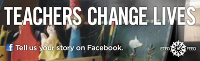 Teachers Change Lives - Tell us your story on Facebook