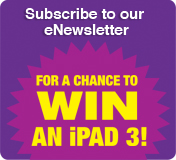 Subscribe to our newsletter and win an iPad 3