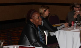 A member at the ETFO Financial Conference