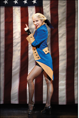 Charlotte d'Amboise as George Washington