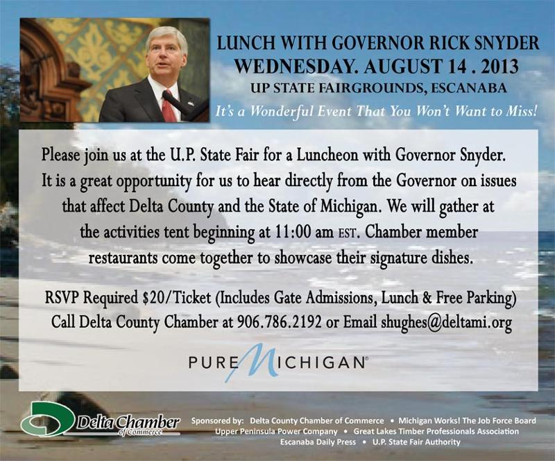 Lunch with the Governor 2013