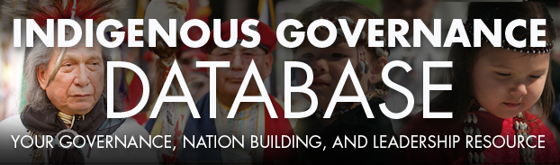 Indigenous Governance Database