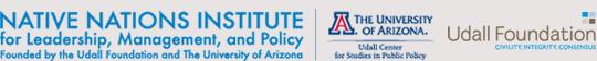 Native Nations Institute | University of Arizona | Udall Foundation