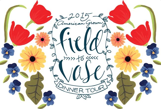 2015 American Grown Field to Vase Dinner Tour