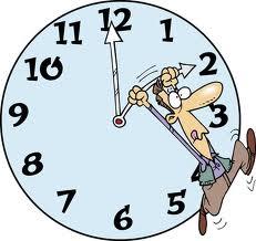 Clock one hour ahead