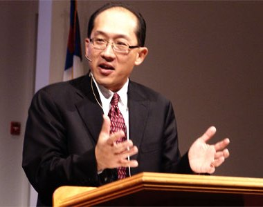 Yong preaching
