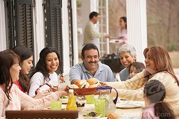 People eating