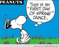 First Day of Spring Dance!