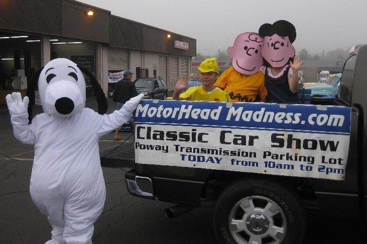 Snoopy Truck