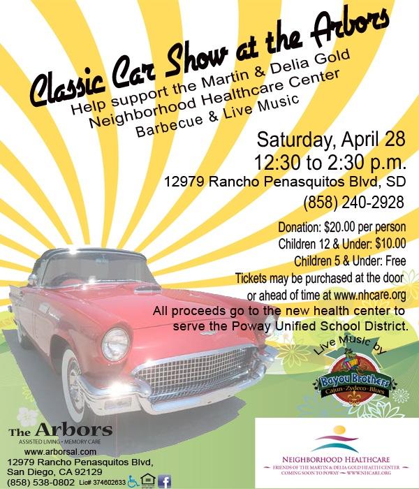Arbors benefit Car Show 4/28/12