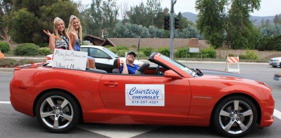Queens & Courtesy Chevy car Jessica