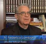 Jesuit Father Federico Lombardi