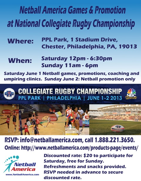 Philly rugby flyer