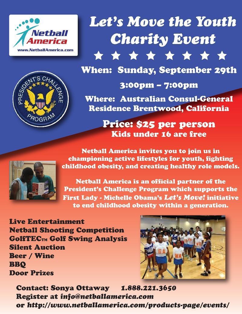 LA Charity event