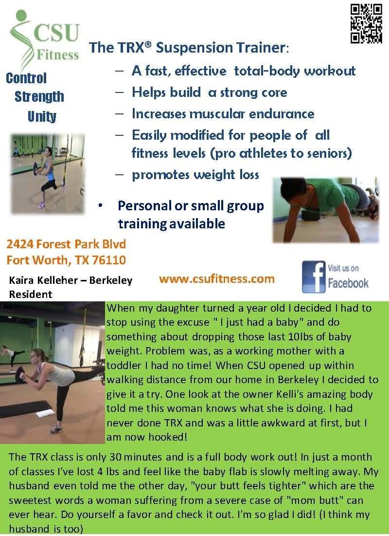CSU Fitness ad