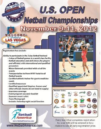 US Open Details Flyer