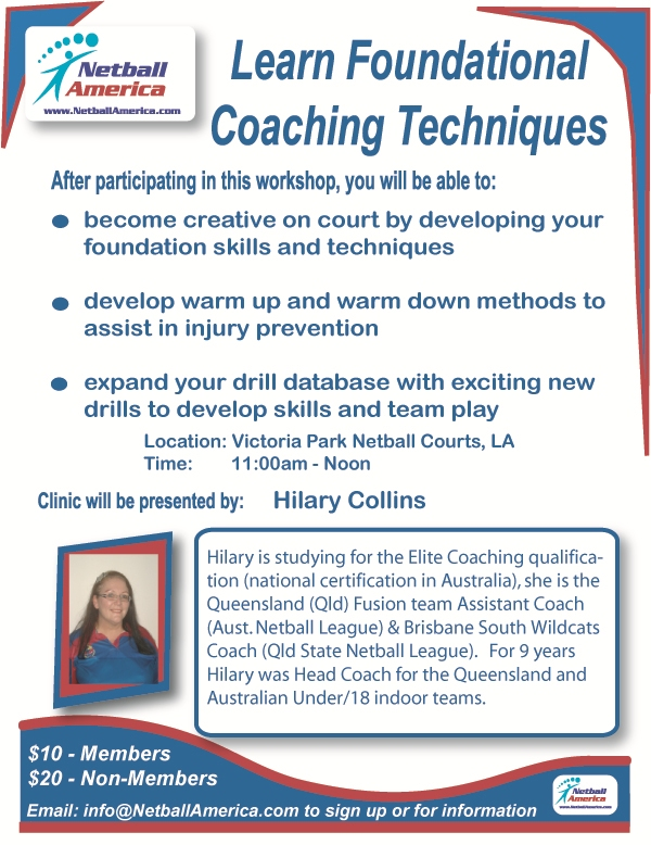 Coaching Hilary flyer
