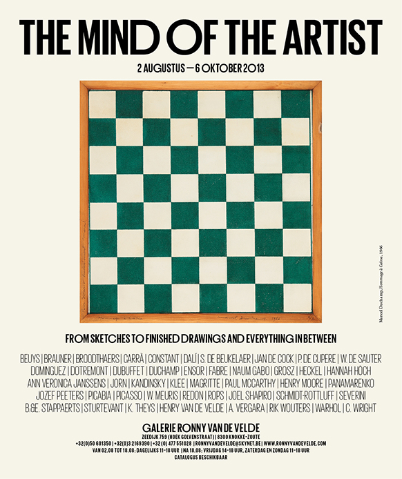 The Mind of the Artist - Invitation