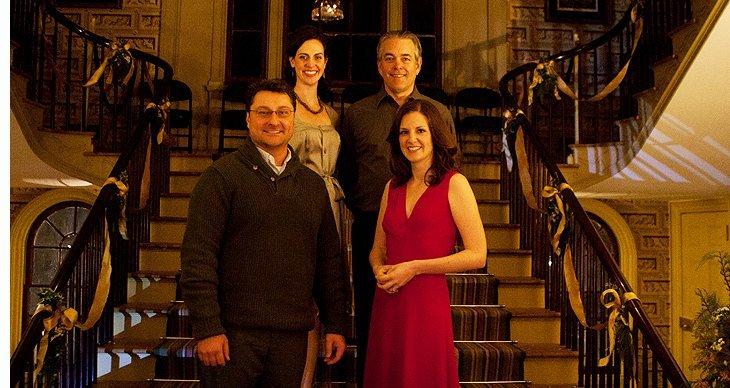 Richard Erocole, Katie Harte, Stephen Paul Johnson, Eleanor Handley.  Photo William Marsh