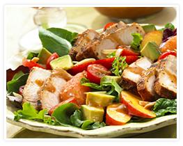 Yummy heart healthy salad