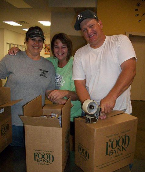 Food Bank Volunteer Night