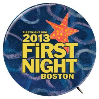 First Night Button 2013
