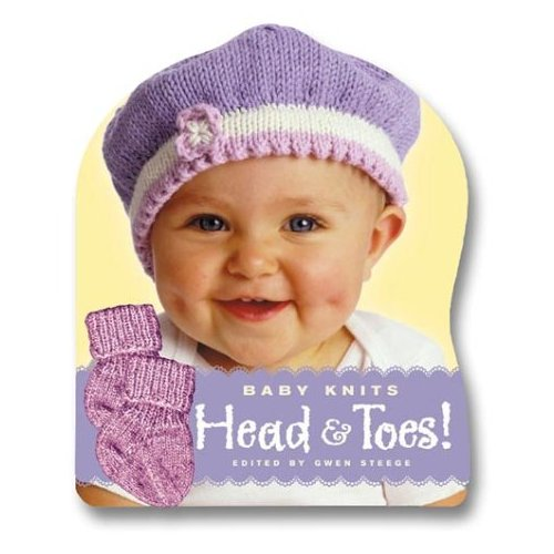 knit baby heads and toes