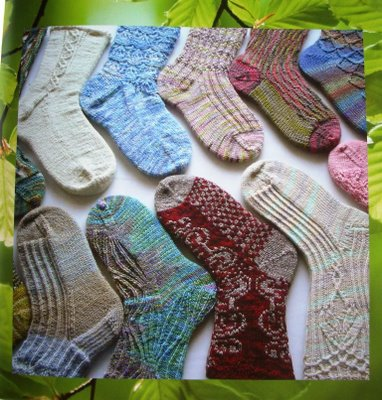 Eclectic sole patterns