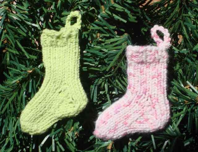 Sock ornament