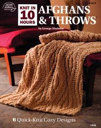Knit in 10 Hours: Afghans and Throws