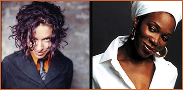 India Arie and Ani DiFranco