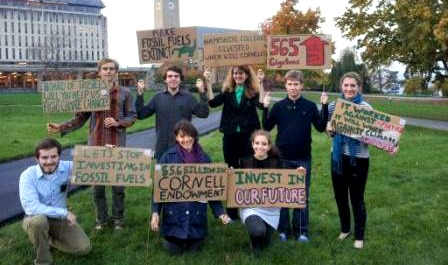 Cornell Divestment Students