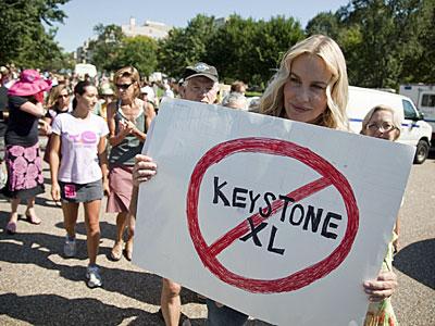 Keystone XL Protest