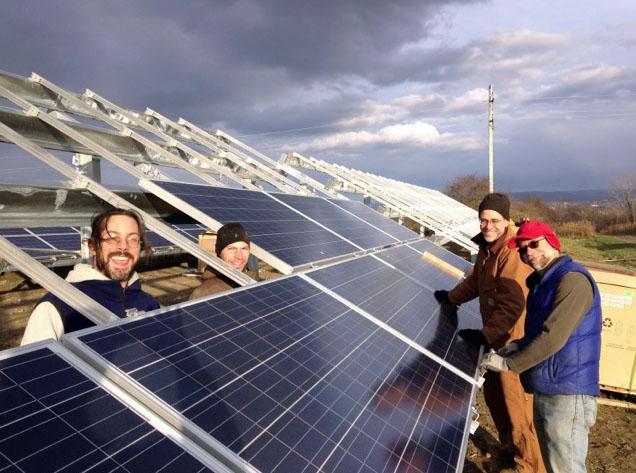 EVI Solar Array