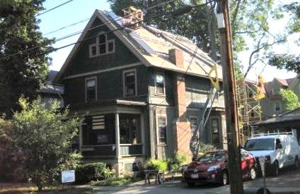 109 S. Albany Goes Solar