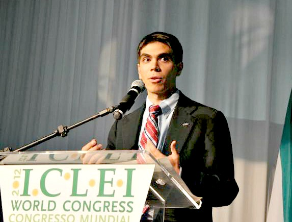Dominic at ICLEI