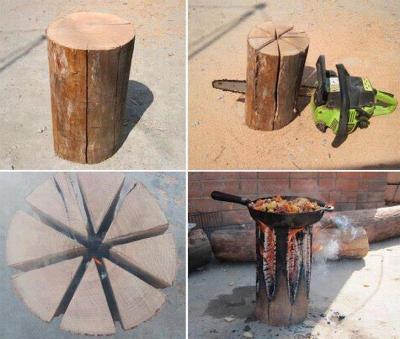 Log Cooker