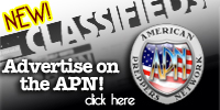 Advertise in APN Classifieds