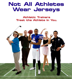Not all Athletes Wear Jerseys