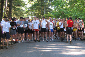 Paris Mountain Trail Run