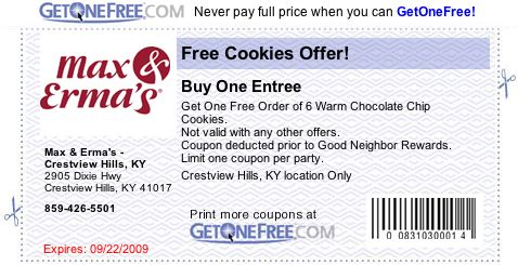 Max and Erms'a Coupon1