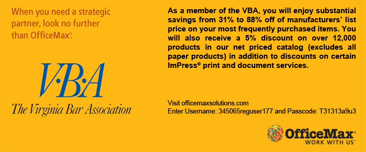 VBA Member Benefit-OfficeMax