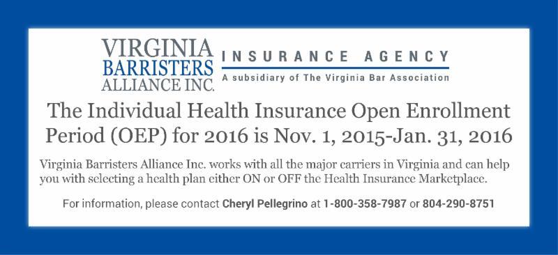 Health Insurance Open Enrollment Period