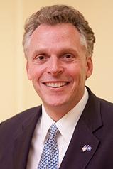 Gov.-elect Terry McAuliffe