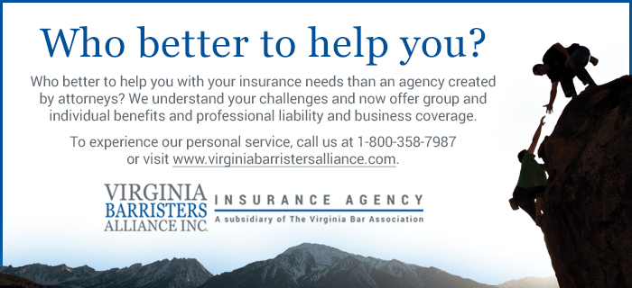 Virginia Barristers Alliance Inc. insurance agency