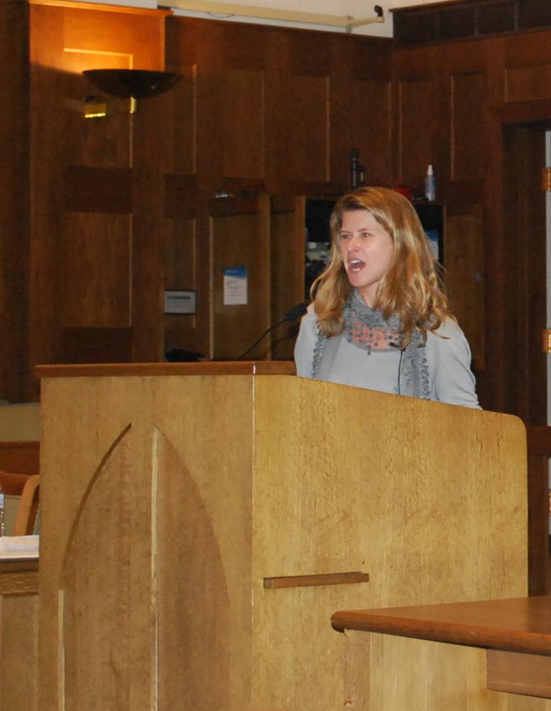 Professor Emmy Reeves, presenter UR Symposium
