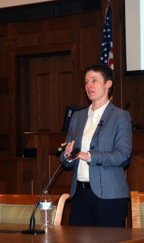 Alison Grounds, presenter, UR Symposium
