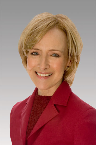 Judy Woodruff of PBS/Photo by Don Perdue