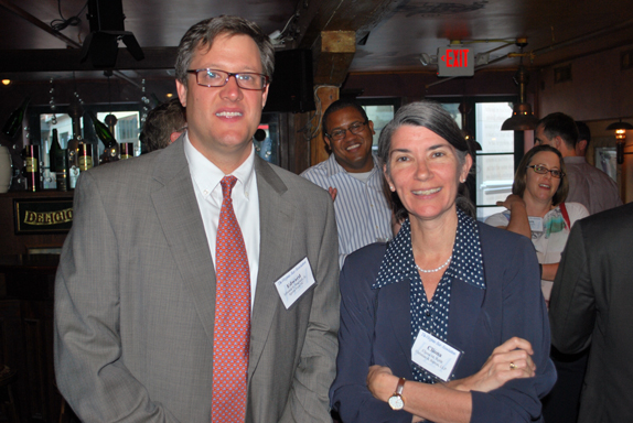VBA members Edward Bagnell Jr. and Cliona M. Robb