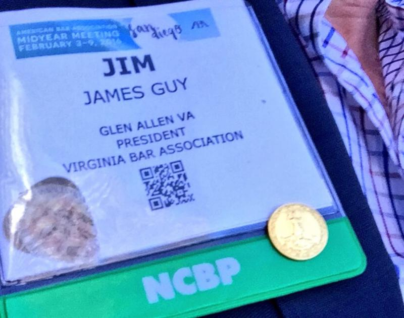 Jim Guy checks in at NCBP